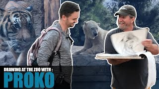 2 Approaches to Drawing Animals at the Zoo with PROKO!