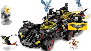 LEGO Batman Крутий Бетмобіль, Бэтвинг і новинки Лего Бетмен Фільм 2017 2 півріччя огляд