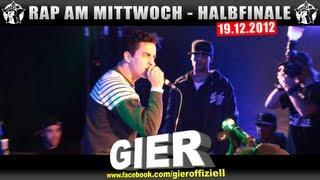 RAP AM MITTWOCH - 19.12.12 BattleMania Halbfinale (3/4) GERMAN BATTLE
