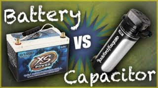 Car Batteries or Capacitors: Which Should I Install? | Car Audio Tips