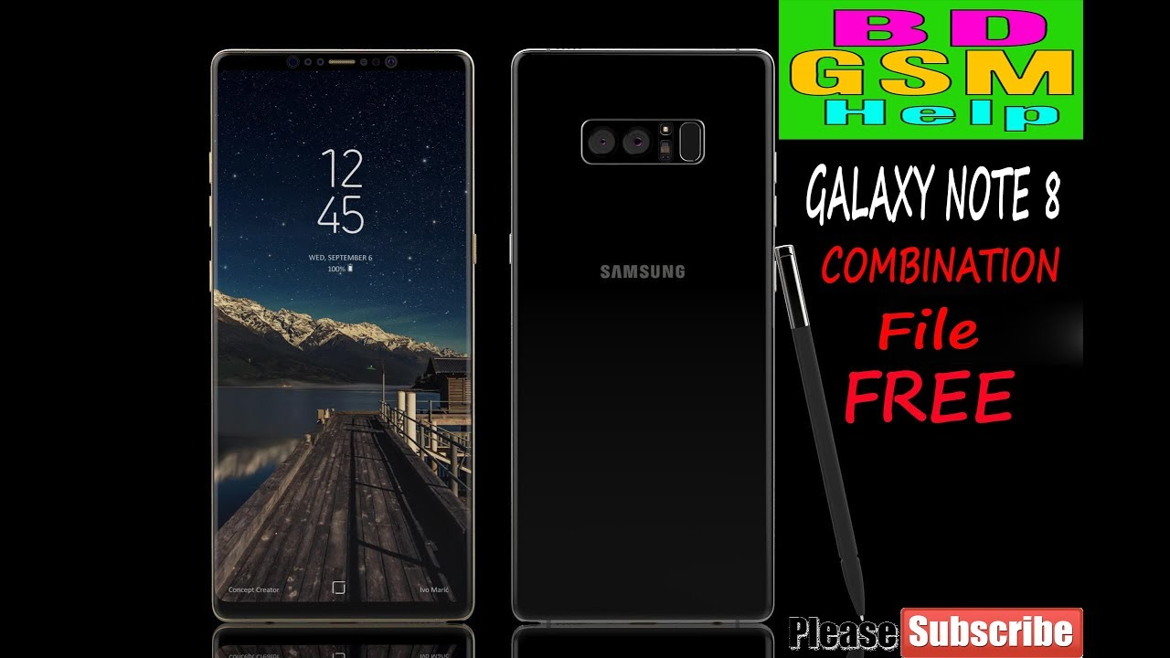 SM-N950U Galaxy note 8 Flash with Cobination File