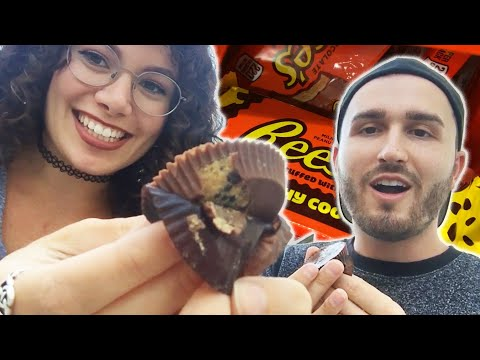 Reese's Lovers Try Reese's Crunchy Cookie (Re-upload)