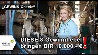 TIPP: Wie Milchviehbetriebe den GEWINN um 10.000 € steigern! DIE 3 Gewinnhebel für jeden Betrieb!