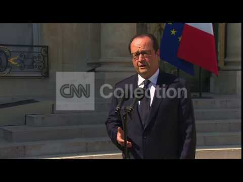 FRANCE:HOLLANDE-AIR ALGERIE CRASH NO SURVIVORS