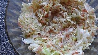 Капустный салат с грейпфрутом видео рецепт UcookVиdeo.ru