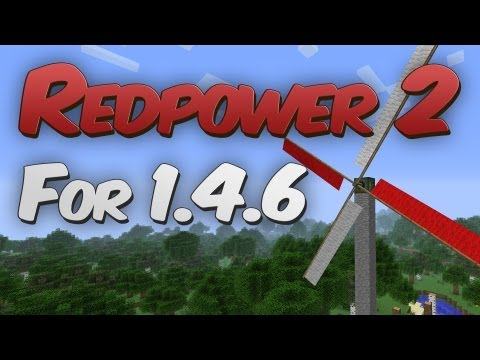 Redpower 2 for Minecraft 1.4.6 / 1.4.7 Mod Showcase