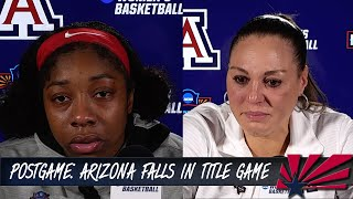 Postgame: UA falls in National Championship game by 1 point | Arizona Wildcats Women's Basketball