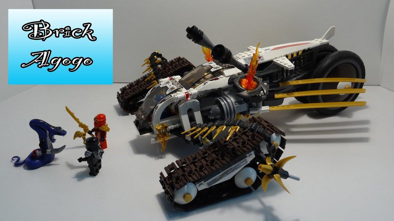 lego ninjago 9449 ultra sonic raider lego speed build