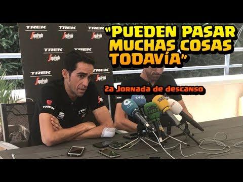 Alberto Contador   Declaraciones 2a Jornada Descanso   TOUR DE FRANCIA 2017