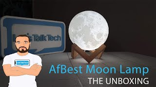 AFBEST Moon Lamp   The Unboxing