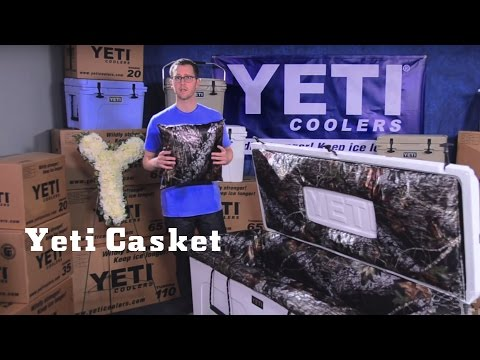 YETI Casket | Spend Eternity in Your YETI