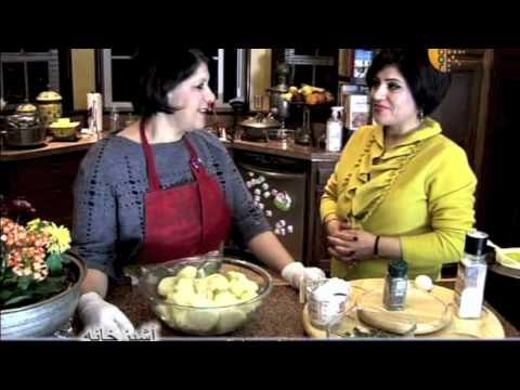 Ashpazkhana - Cooking with Nazema Momand - Shami Kabab (Potato) کباب شامی با کچالو