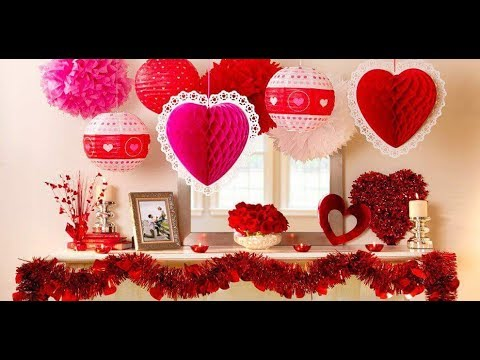 Most Romantic And Warm Valentine Decoration Ideas Youtube