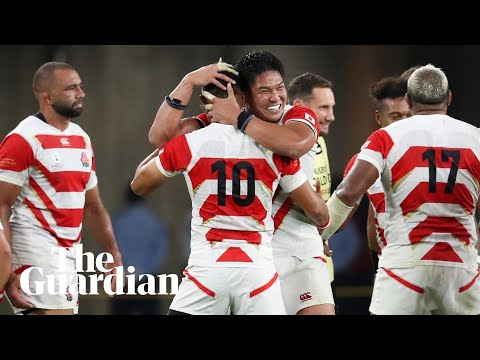 'Re-written history': how Japan reacted to shock win over Ireland