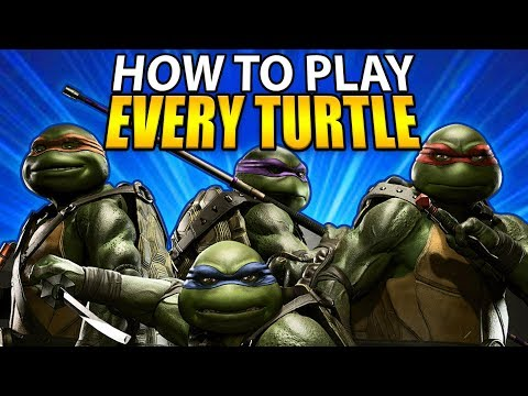Injustice 2 - How to Play Every Ninja Turtle - Full Character Breakdown!