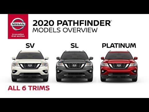 2020 Nissan Pathfinder SUV Walkaround & Review
