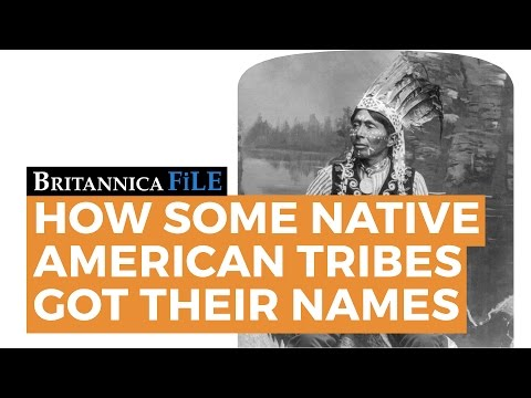How Some Native American Tribes Got Their Names