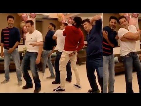 Salman Khan, Sajid & Sudeep Was Seen Shaking Their Legs With The Dancing Sensation Prabhu Deva