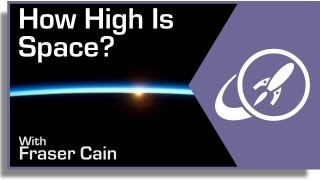 How High Is Space?
