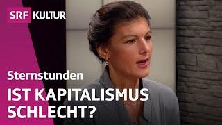 Wie uns Sahra Wagenknecht vor dem Kapitalismus retten will (Sternstunde Philosophie 15.05.2016)