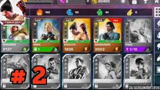 Tekken Mobile - Gameplay Walkthrough Part 2 - Act 1Completed( iOS,Android)