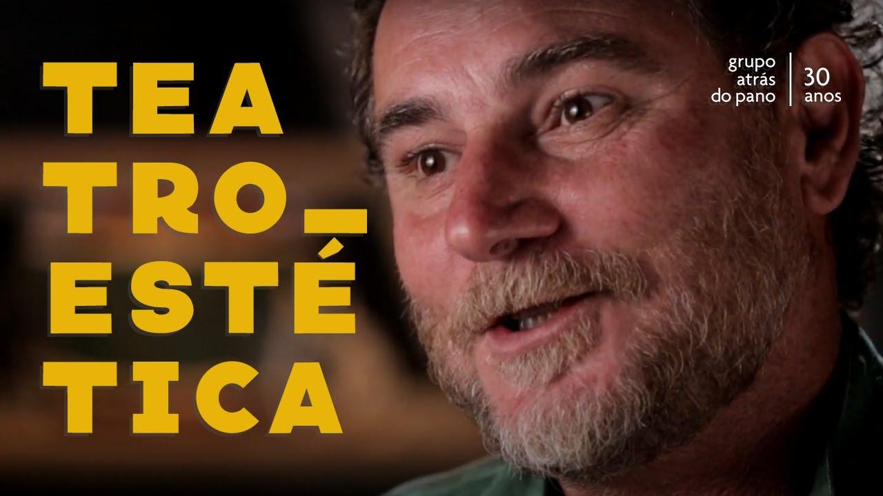 """Segundo episódio da série """"Atrás do Pano 30 anos"""": Teatro e Estética, com Paulo Thielmann"""