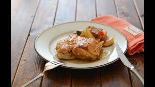 さっぱり味の鶏むね肉レシピです。フライパンで簡単。しっとりジューシ...