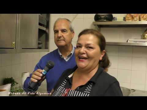 Antonietta Salaris del Ristorante Mabrouk a Catalan TV
