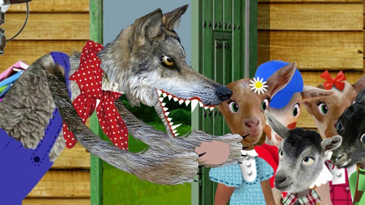 El Lobo Y Los Siete 7 Cabritillos En Español Video Cuento Infantil En Español