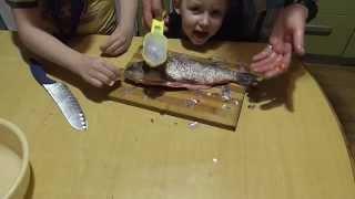 Нож для чистки рыбы обзор  Покупка из Китая | Лысый Повар