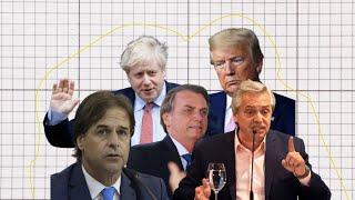 Trump, Bolsonaro, Lacalle Pou: ¿Cómo impactó el coronavirus en la imagen de los líderes políticos?