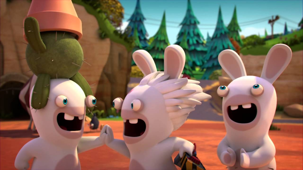 Rabbids Invasion - YouTube