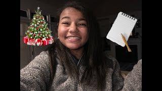 My Christmas Wish List Vlogmas Day 6 |2018|