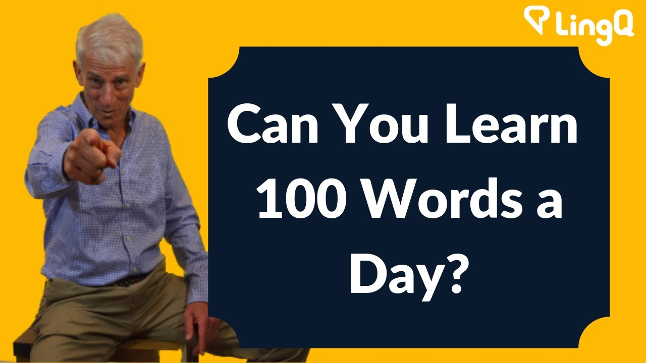 The secret to learning 200 English words per hour