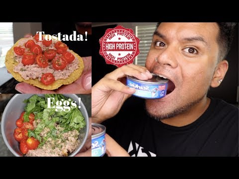 4 Different Ways To Eat Canned Tuna!!! *Simple Healthy Protein