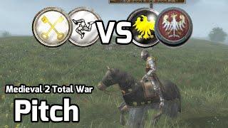 Medieval 2 Total War Online Battle #185 (2v2) - Fog Warfare