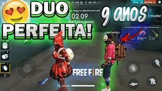 FREE FIRE ESSA CRIANÇA JOGA MUITO FT.9 ANOS!!!