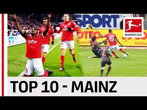 Top 10 Goals - 1. FSV Mainz 05 - 2016/17 Season