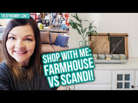Farmhouse vs Scandi | Shop your Style with Me!