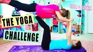 Twins Yoga Challenge   Ella Elbells Squared Guest