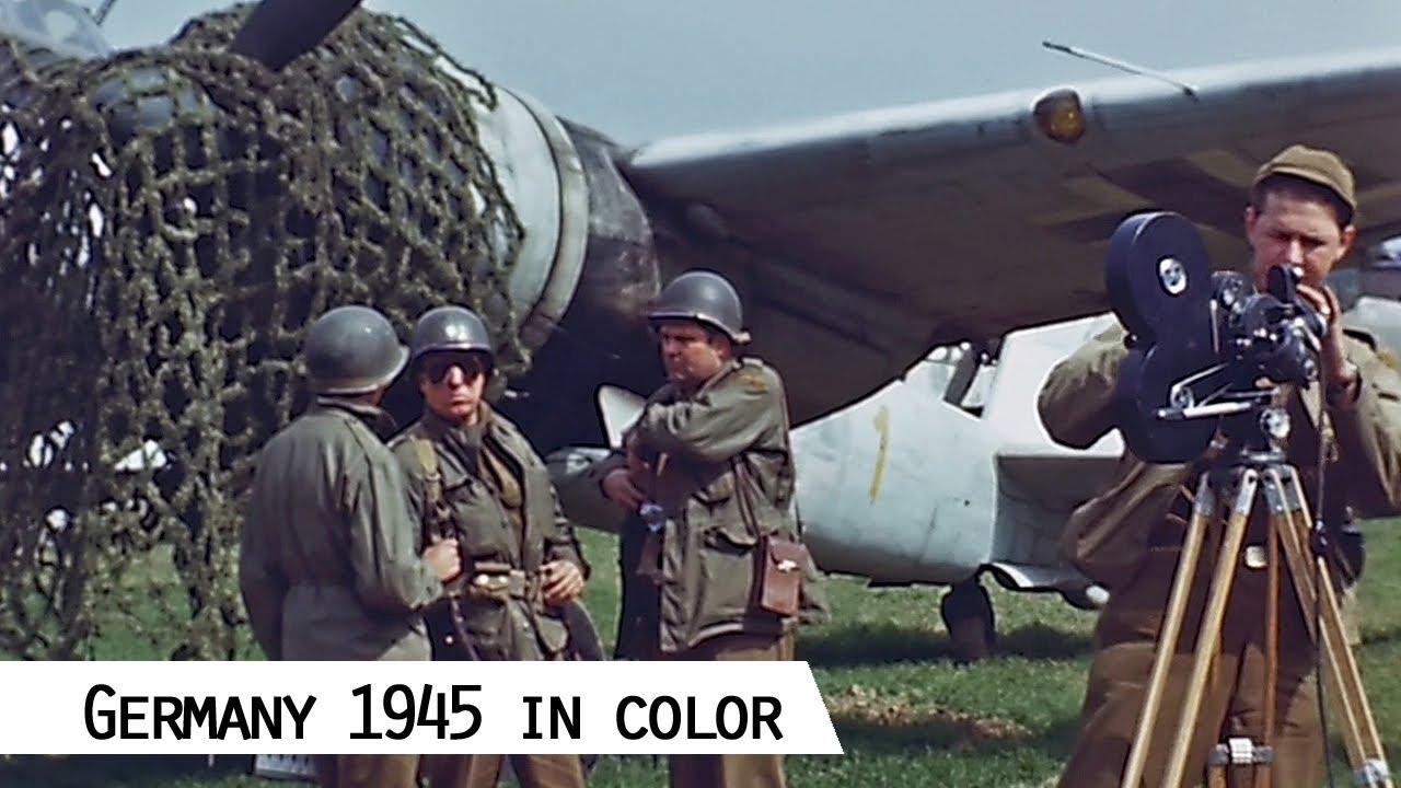 Deutschland 1945: Sensationell restaurierte Filmaufnahmen