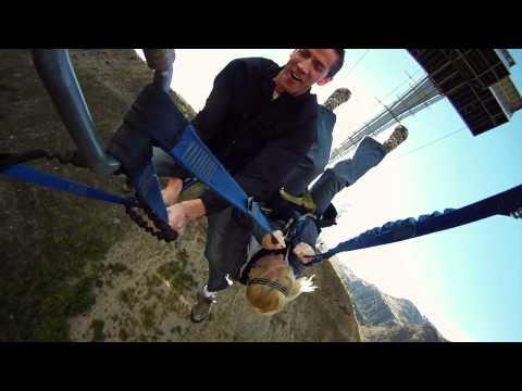 Nevis Swing, World's Biggest Swing, Queenstown, New Zealand - Old Promo Video - AJ Hackett Bungy NZ