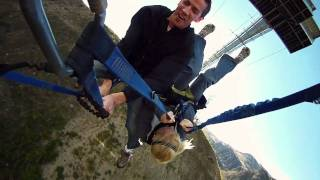 Nevis Swing, World's Biggest Swing, Queenstown, New Zealand - Old Promo Video - AJ Hackett Bungy NZ thumbnail