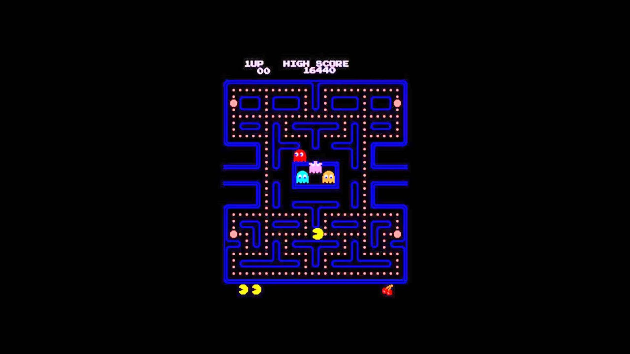 Pac Man Namco Sounds Start Music Youtube