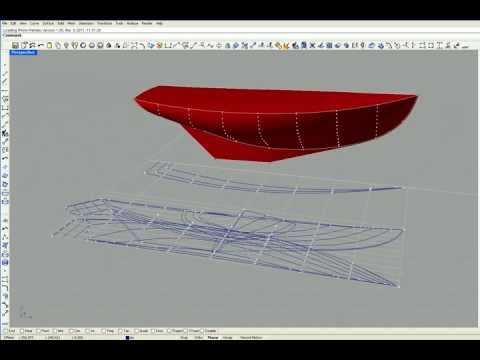 Boat Building / Part Two, Lines Drawing