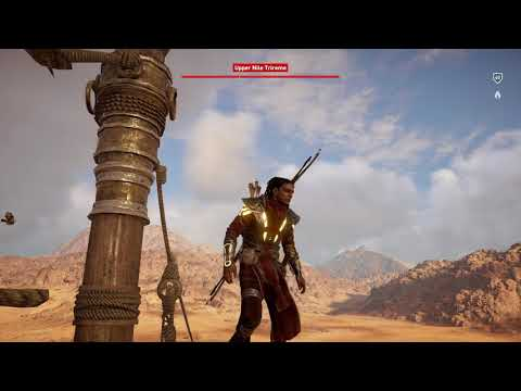 Assassin's Creed Origins - Kill Captain - Enjoying the Landscape - Upper Nile Trireme