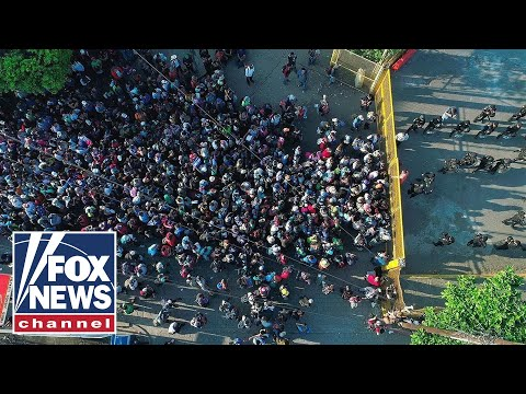 Migrant caravan headed to the US grows to an estimated 2,000