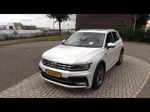 2017 Volkswagen Tiguan R Line Start Up, Drive, In Depth Review Interior Exterior