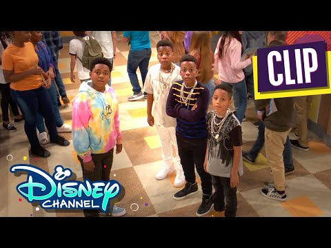 Booker's Diss Track | Raven's Home | Disney Channel