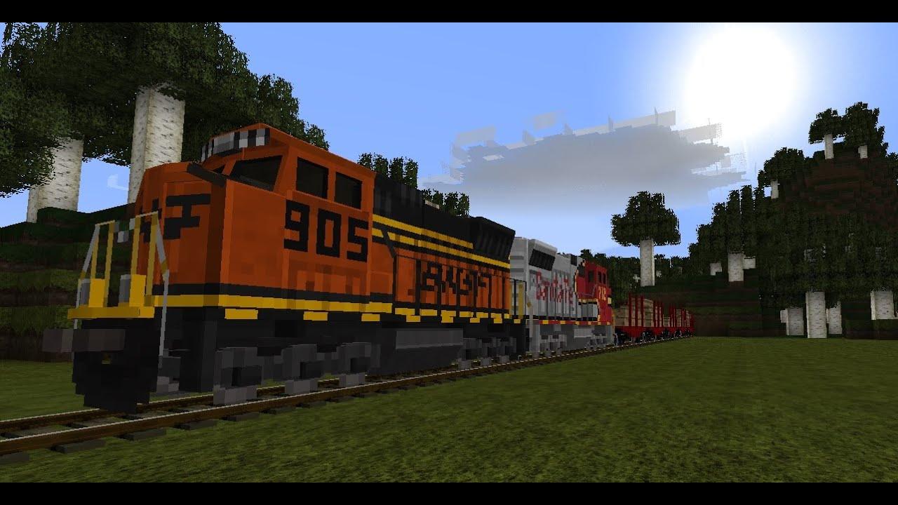 мод на поезда на майнкрафт 1 7 10 #2
